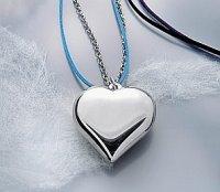 Naszyjnik w kształcie serca