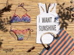 Gorące trendy w plażowej kolekcji MOODO