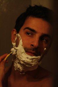 golenie maszynką